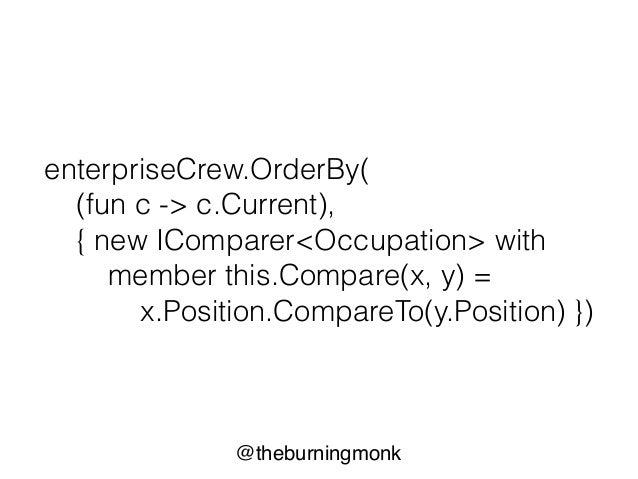 @theburningmonk tuples + pattern matching