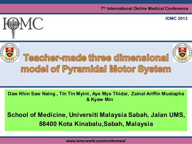 7th International Online Medical Conference (IOMC 2013)www.iomcworld.com/conference/ (May 24-26, 2013)7th International On...