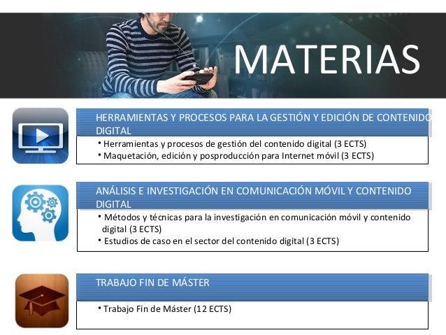 HERRAMIENTAS Y PROCESOS PARA LA GESTIÓN Y EDICIÓN DE CONTENIDO DIGITAL • Herramientas y procesos de gestión del contenido ...