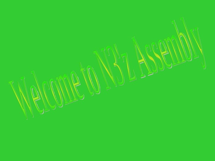 Welcome to N3'z Assembly