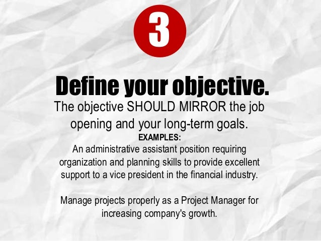 2 4 define your objective