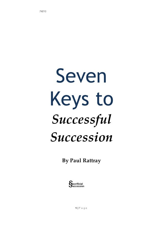 education as a key to succession The traditional approach to leadership succession assumes lifetime employment,  education + elearning learning paths  yet, there are some key obstacles.