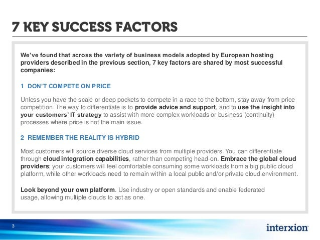 Critical Success Factors in the Hotel Industry