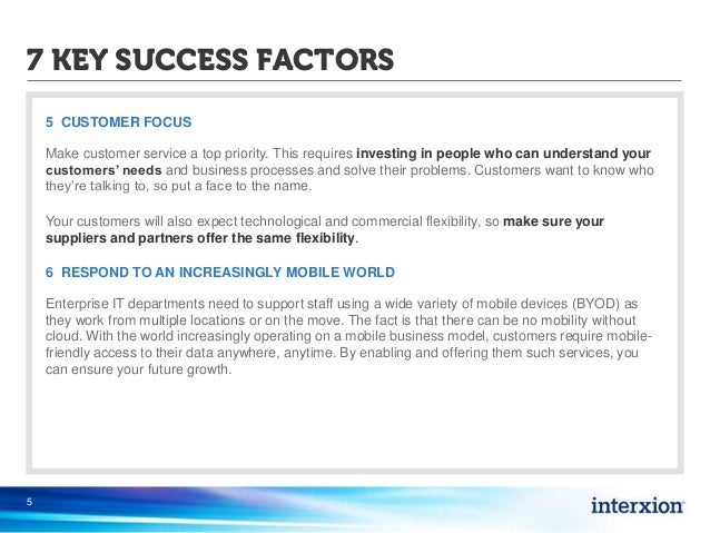 cadbury key success factors Major macro and global environmental influences on the market and critical  success factors 4 analyse the industry with the help of porter's 5.