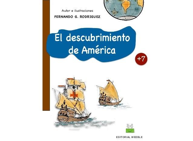 EDITORIAL WEEBLE FERNANDO G. RODRIGUEZ Autor e ilustraciones