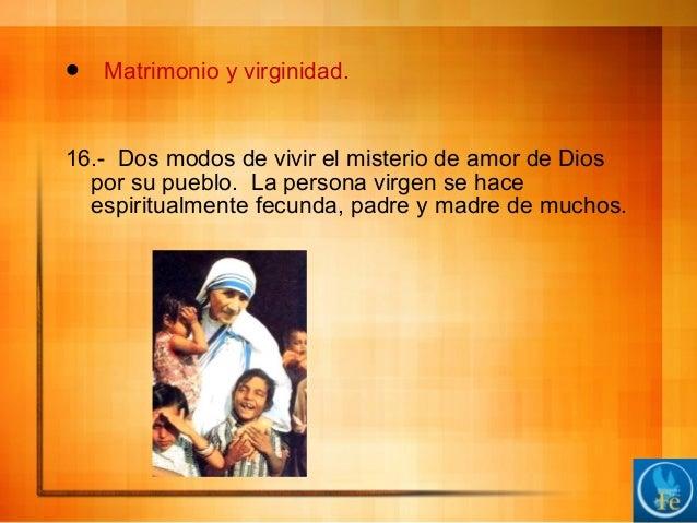 Virginidad Matrimonio Biblia : La misión de familia