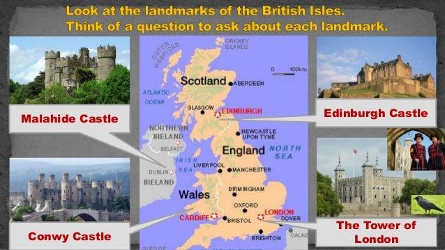 урок в 7 классе по теме landmarks of the british isles and russia Slide 3