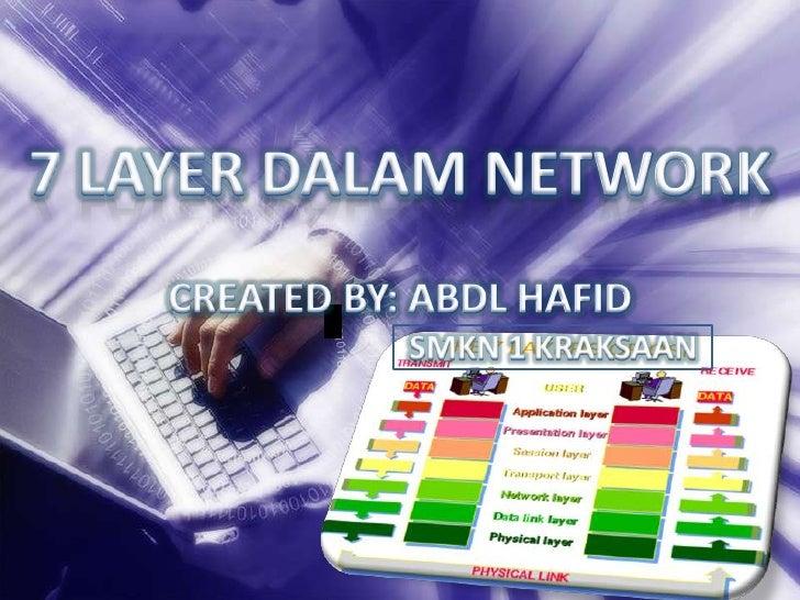 7 layer dalam network