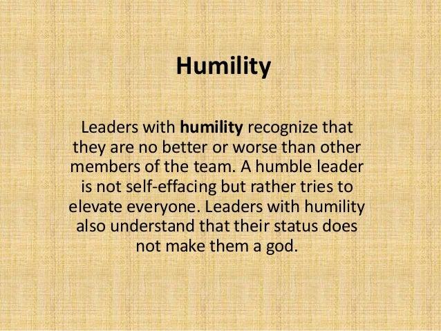 ผลการค้นหารูปภาพสำหรับ leader Humility