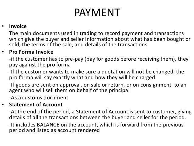 PAYMENT U2022 Invoice ...