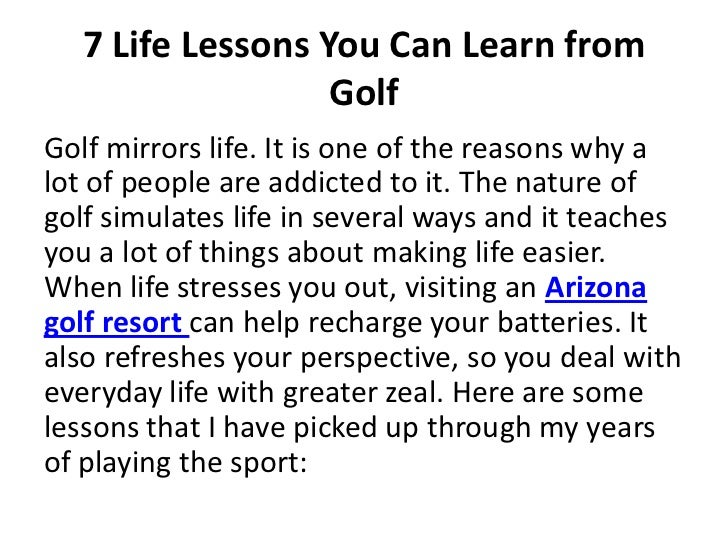 How young can you learn to play golf? - Quora