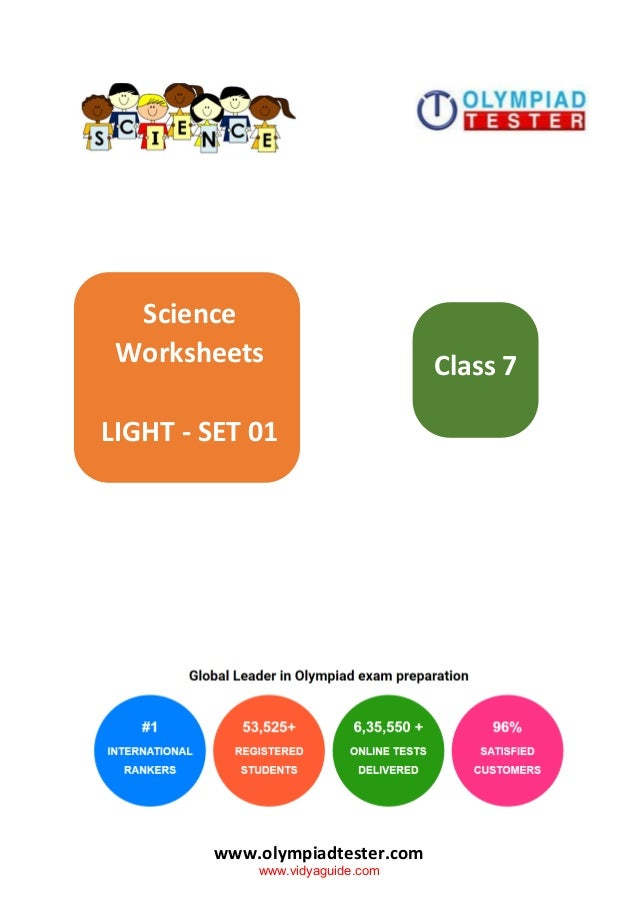 Science Olympiad Sample Paper For Class 7 idea gallery
