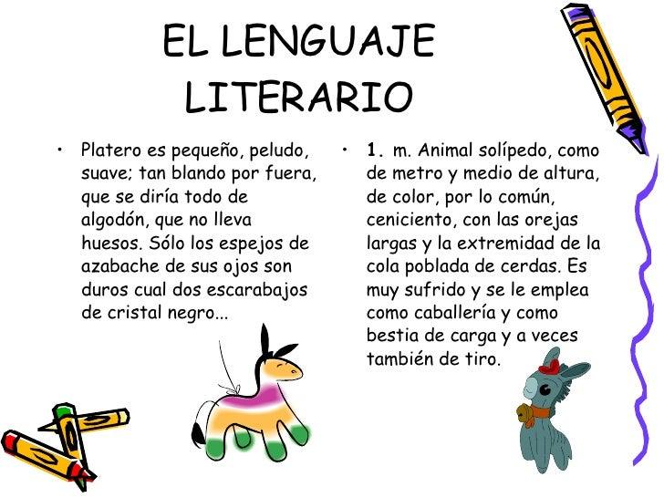 7.Los Textos Literarios Slide 2
