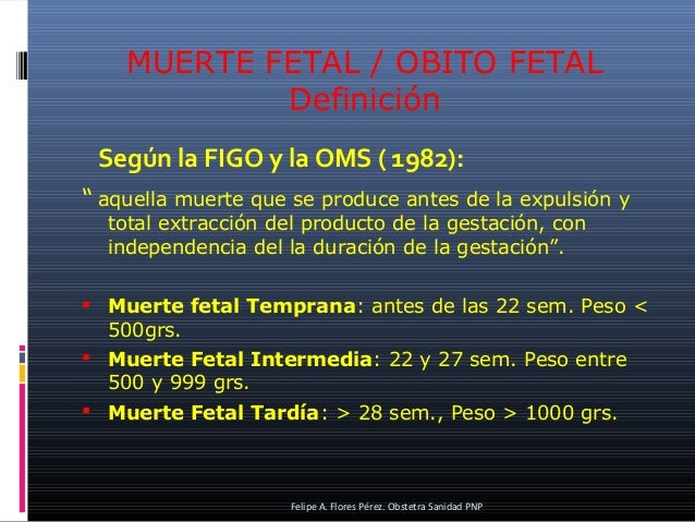 Macrosomia Fetal. Muerte Fetal Intrautero