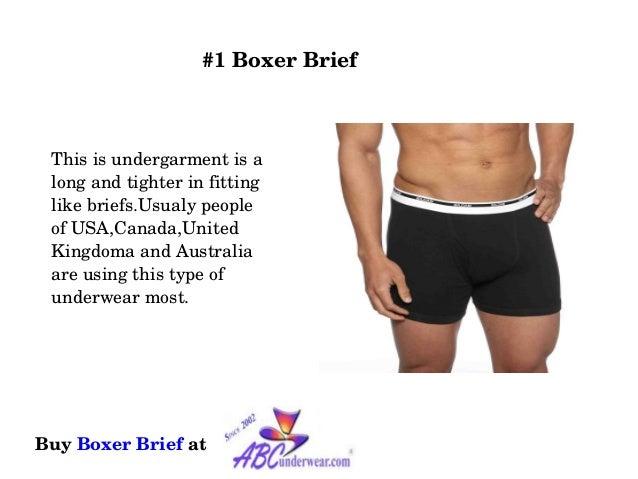 3c3bb2d916 7 main types of men's underwear