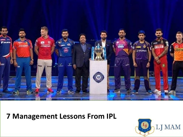 7 Management Lessons From IPL