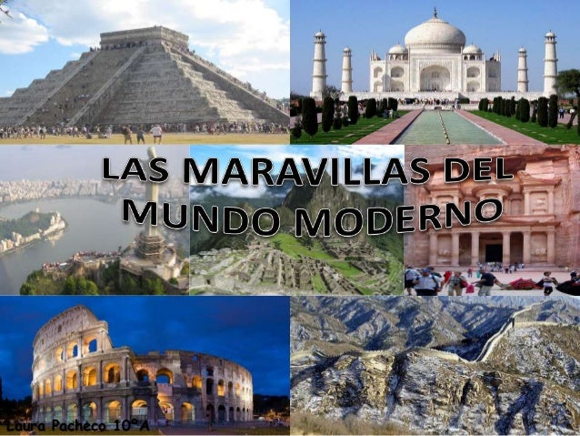 Maravillas Del Mundo Moderno