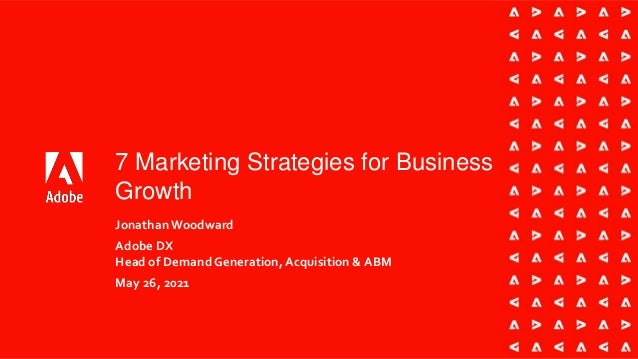 7 Marketing Strategies for Business Growth