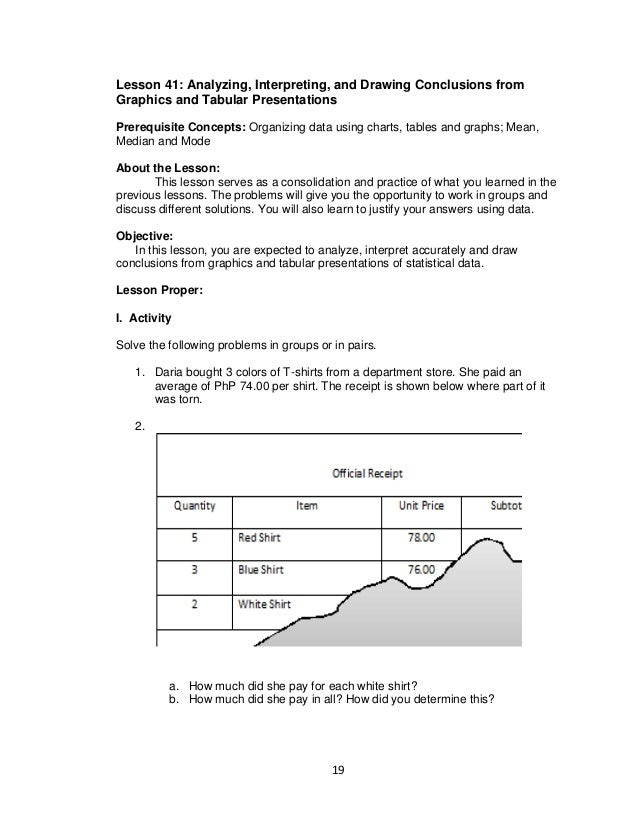 mathematics 7 – Drawing Conclusions Worksheets 2nd Grade