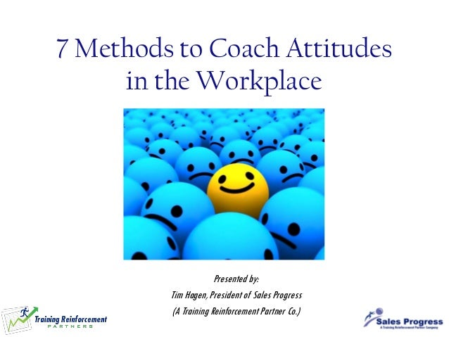 coaching in the workplace Working on your coaching and counseling skills will help you be a better manager and develop a more productive and engaged staff barbara mitchell is a human resources and management consultant and author of the big book of hr and the essential workplace conflict handbook.