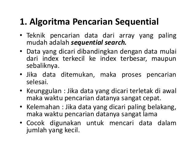 7 Metode Pencarian Data Array