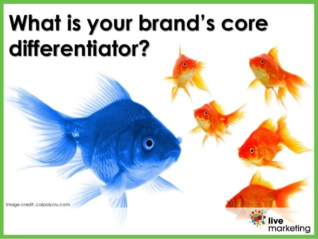 What is your brand's core differentiator? Image credit: calpolycru.com