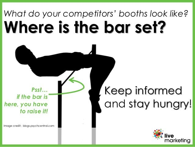 Image credit: bustle.com Image credit: blogs.psychcentral.com Where is the bar set? Psst… if the bar is here, you have to ...