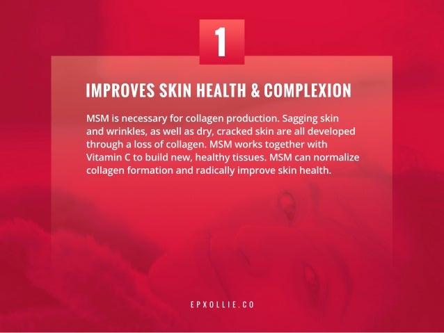 7 MSM Supplement Benefits