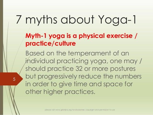 7 myths about yoga 1
