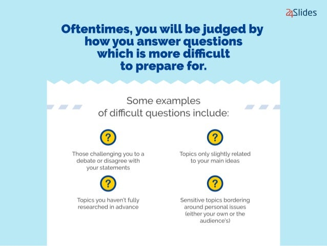 7 Myths When Answering Tough Questions During Presentations Slide 3