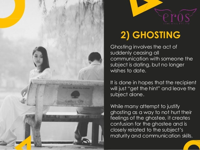 dating terms ghosting