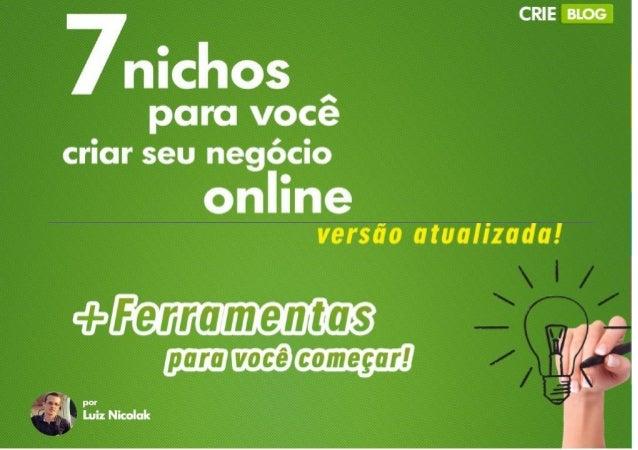 """""""Ideiassãoomaiorativodequalquerhomem."""" HarveyS.Firestone 2 www.crieblog.com.br"""