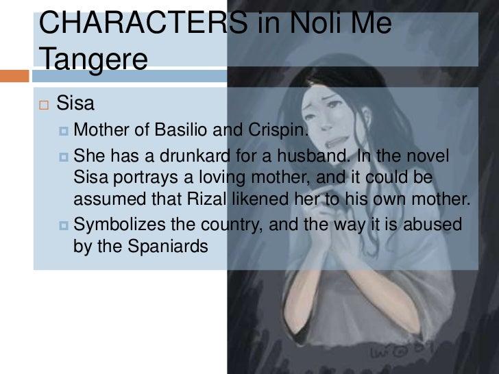 noli me tangere symbolism characters