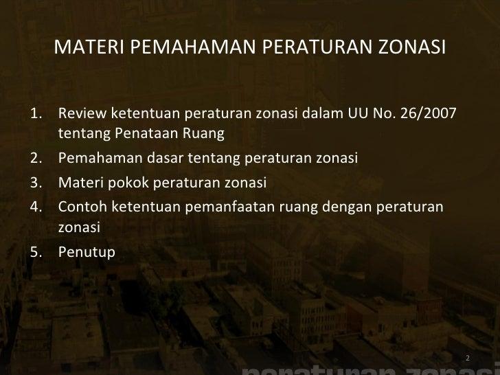 Peraturan Zonasi Slide 2