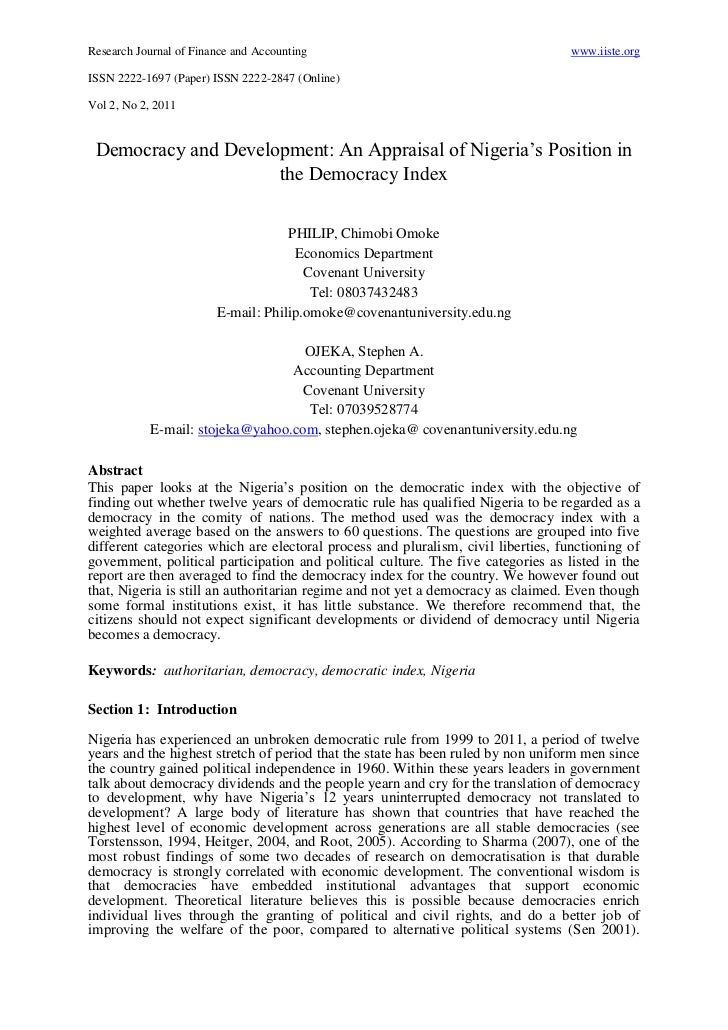 Research Journal of Finance and Accounting                                         www.iiste.orgISSN 2222-1697 (Paper) ISS...