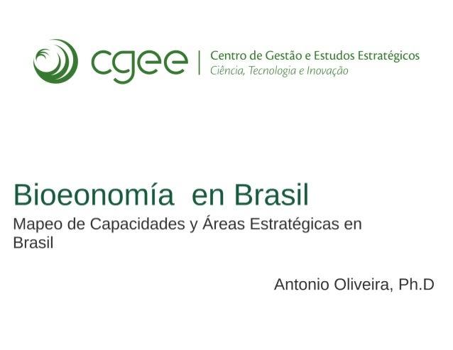 Bioeconomía en Brasil
