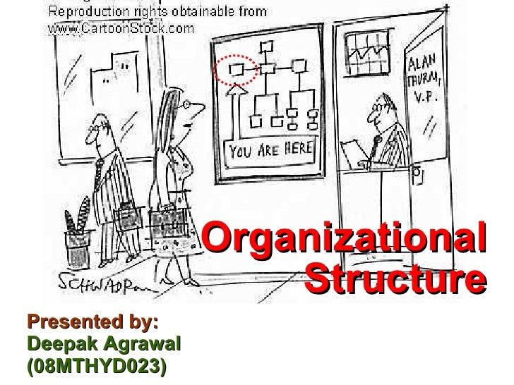 Presented by: Deepak Agrawal (08MTHYD023) <ul><li>Organizational Structure </li></ul>