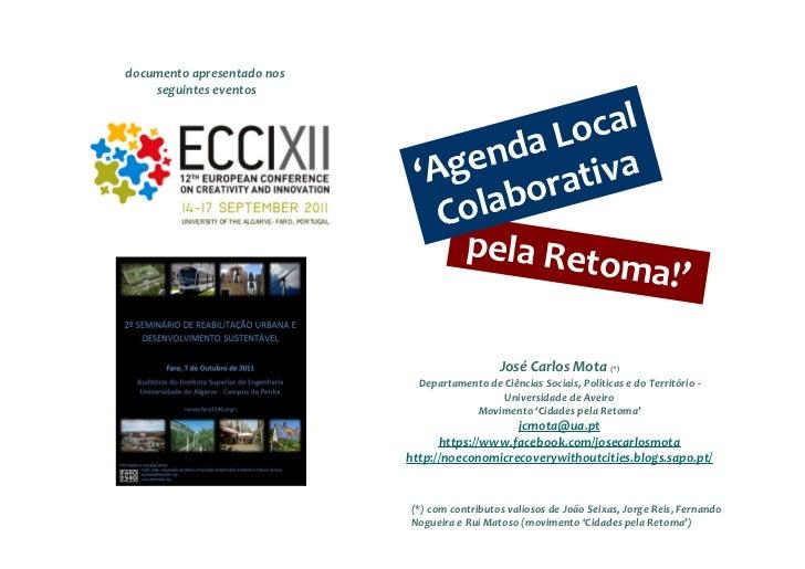 documento apresentado nos    seguintes eventos                                      a Local                             'A...