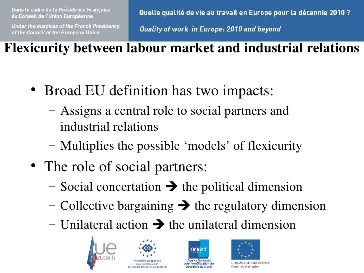denmark flexicurity and industrial relationship