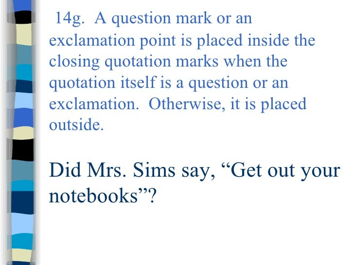 7p Eol Rules For Quotation Marks 1 Satu