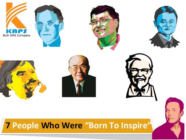 """7 People Who Were """"Born To Inspire"""""""