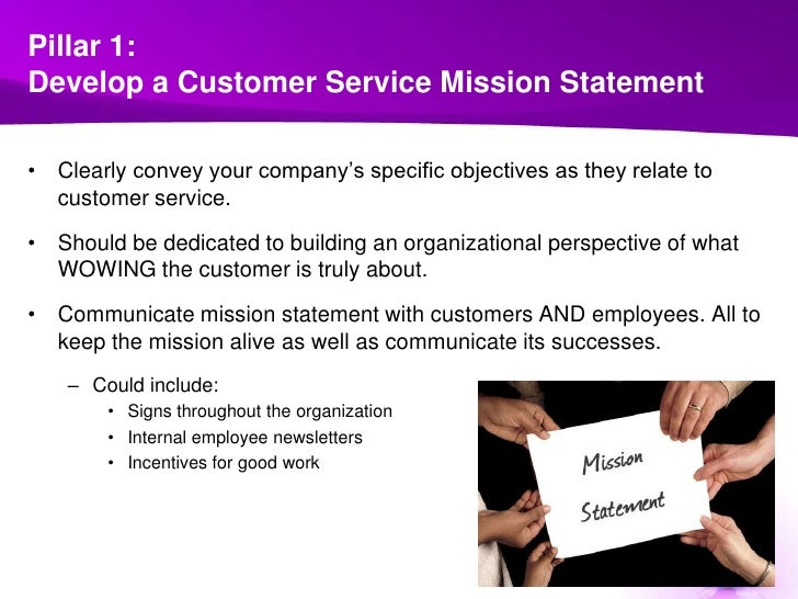 7 Pillars Of Customer Service