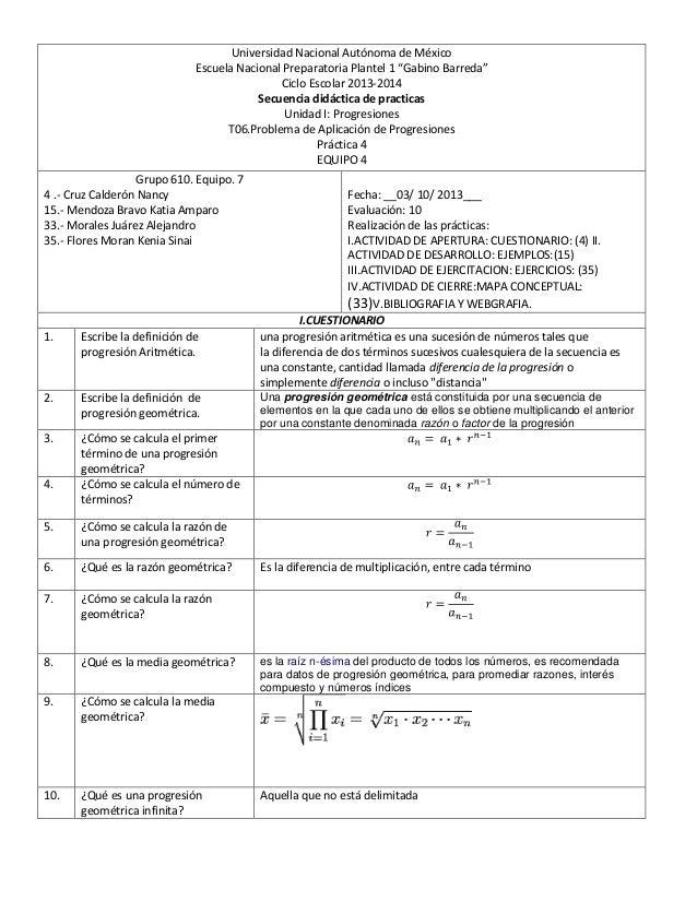"""Universidad Nacional Autónoma de México Escuela Nacional Preparatoria Plantel 1 """"Gabino Barreda"""" Ciclo Escolar 2013-2014 S..."""