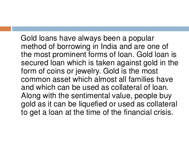7 precautions to take before a gold loan - 웹