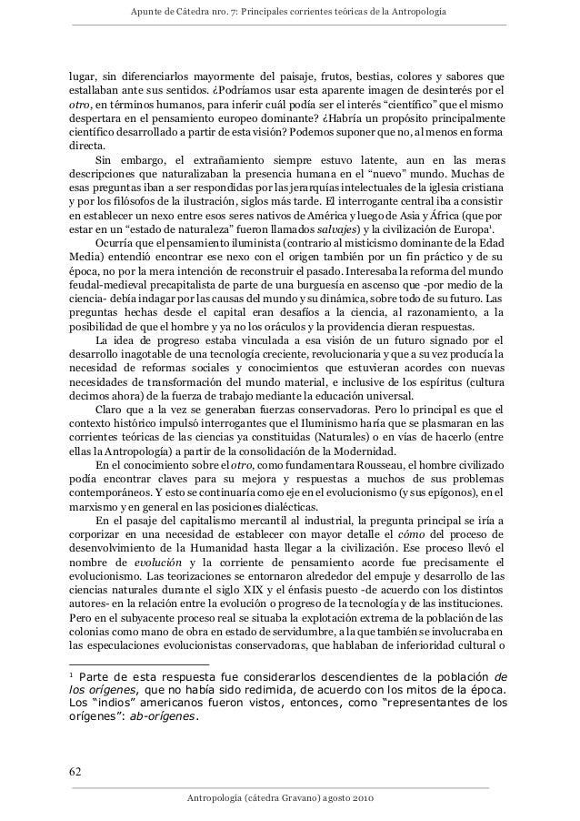 7 principales corrientes teóricas de la antropología.doc Slide 2