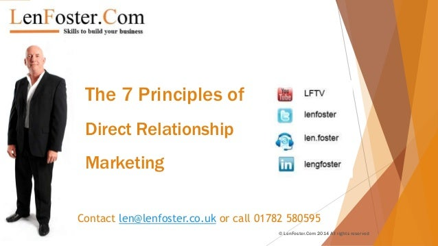 7 principles of relationship marketing campaign