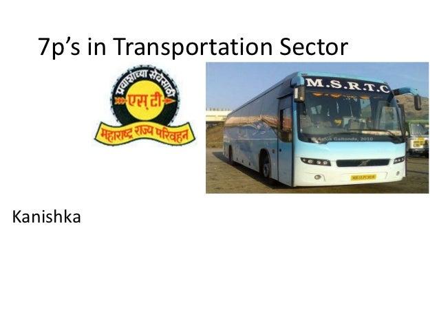 7p's in Transportation SectorKanishka