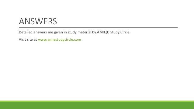 Amie study notes society