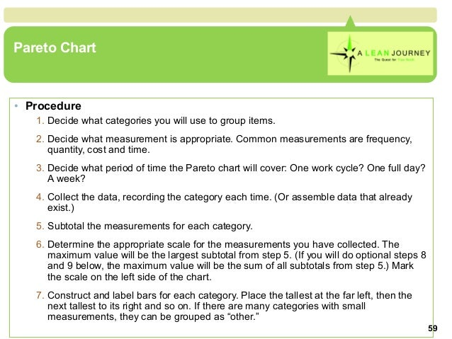 7 qc tools pareto chart procedure ccuart Image collections
