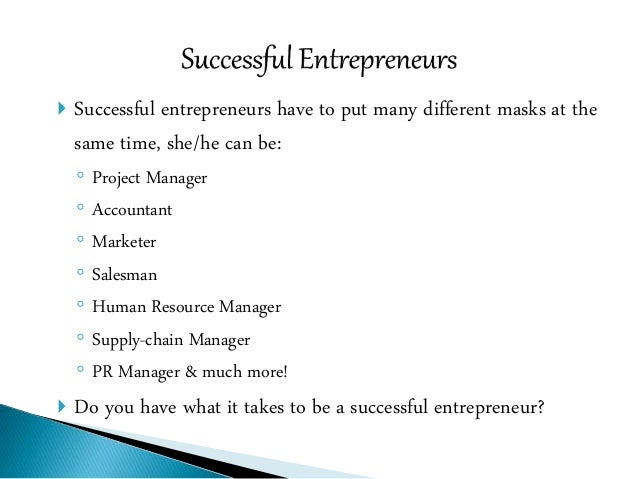 10 Qualities of a Successful Entrepreneur